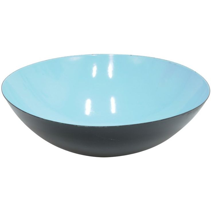 A Grand Herbert Krenchel Krenit enameled steel Bowl | From a unique collection of antique and modern serving bowls at https://www.1stdibs.com/furniture/dining-entertaining/bowls/ A Grand Herbert Krenchel Krenit enameled steel Bowl $750