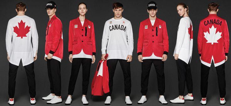 「ディースクエアード」制作、リオ五輪カナダ選手団のユニフォームが公開