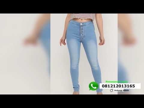 c240b4886 Model celana jeans wanita - YouTube | Celana Jeans Wanita | Pants ...