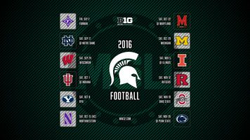Michigan State Spartans 2016 Football Schedule