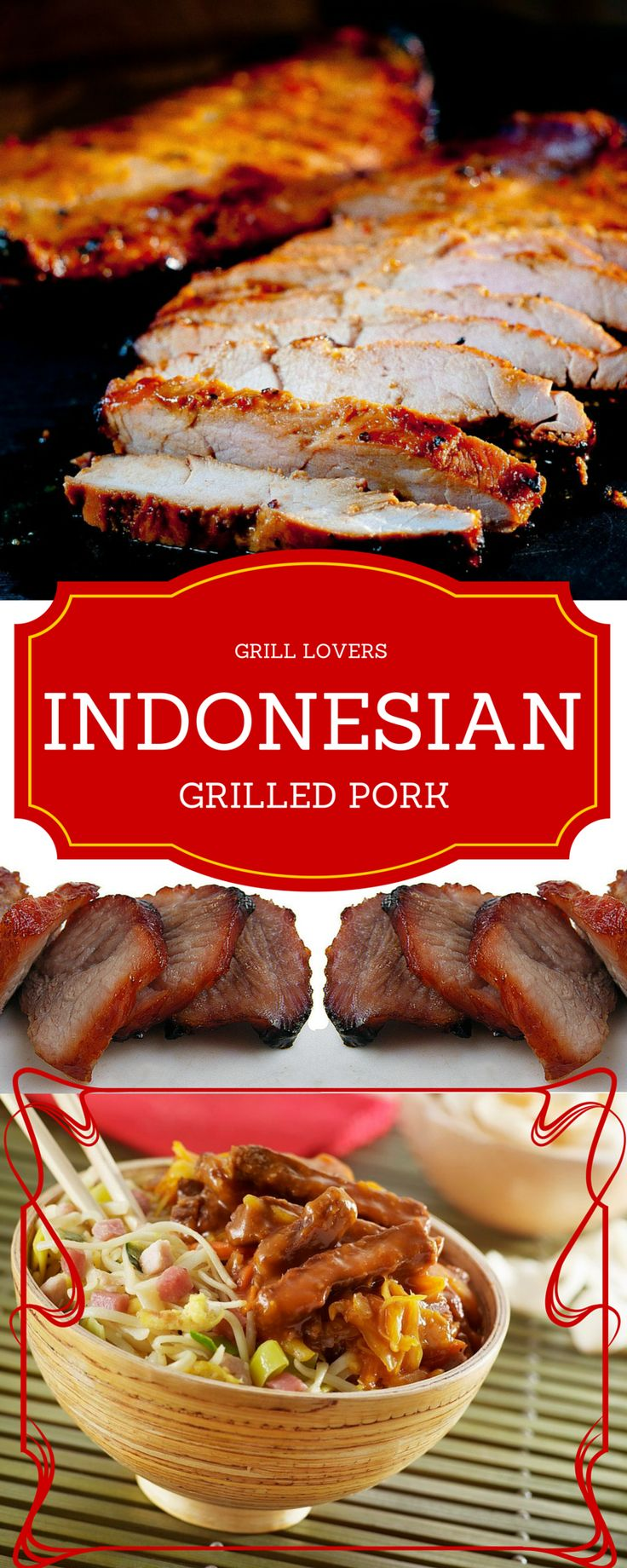 Grill Lovers' Amazing Indonesian Grilled Pork Recipe #recipes #foodporn #foodie #grilling