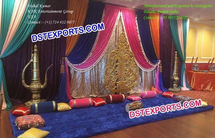 Mehndi Decoration Ideas Dailymotion : Best ideas about mehndi stage on pinterest