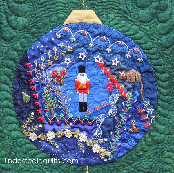 Linda Steele Quilt Blog: Christmas Crazy quilt | Christmas Quilts ... : crazy quilt blogs - Adamdwight.com