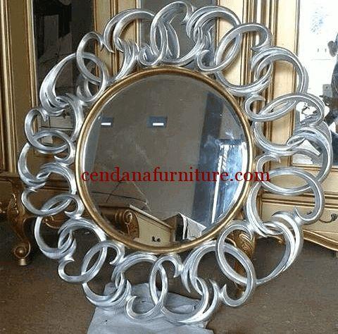 Cermin Dinding Minimalis Kombinasi