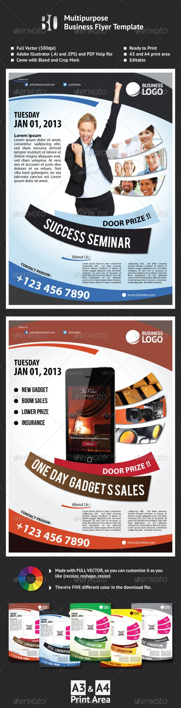flyers on pinterest business flyer templates brochure template and