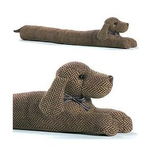 Dora Designs Daschund Draught Excluder