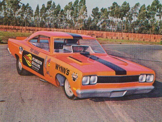 Fred Goeske's Roadrunner Funny Car