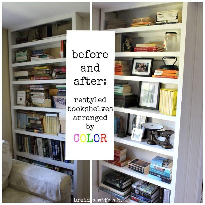 Best 25+ Arranging Bookshelves Ideas On Pinterest
