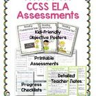 Take the guesswork out of teaching and tracking Common Core ELA Standards! This pack includes a poster for each standard, an assessment or activity...