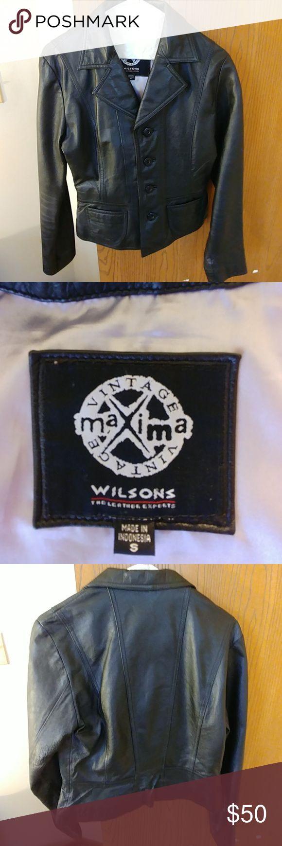 Wilsons genuine leather Maxima Vintage jacket Vintage