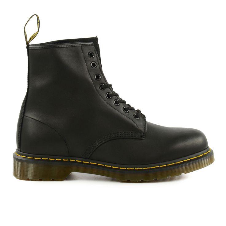 Black Dr. Martens boots - Black Dr. Martens veterlaarzen