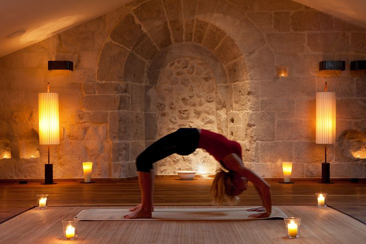 LeDomaine, #Spain - Yoga Room @Abadia Retuerta LeDomaine