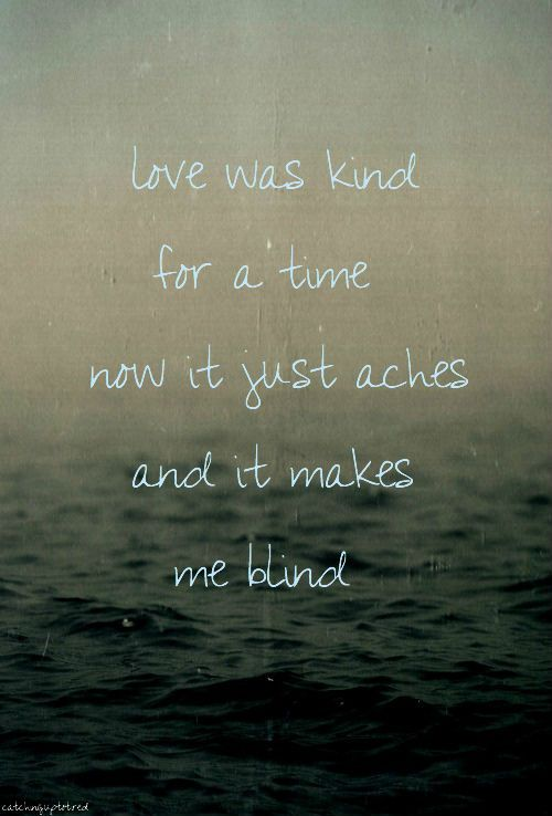 Lover's Eyes - Mumford and Sons
