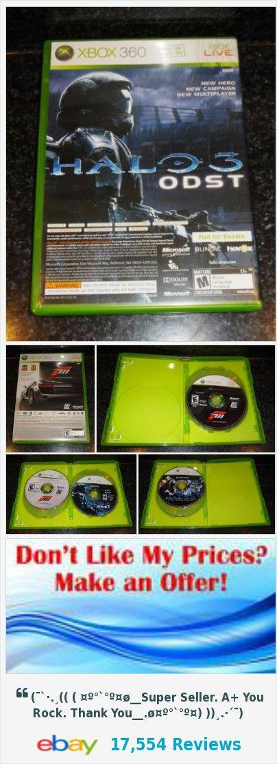 Halo 3: ODST Campaign Multiplayer & Forza Motorsport 3 Xbox 360 Bundle - JB | eBay https://www.ebay.com/itm/253235703538
