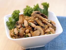 Mushroom, White Bean and Leek Ragoût