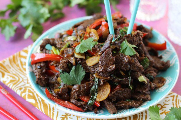 Thai Basil Beef - NO HONEY