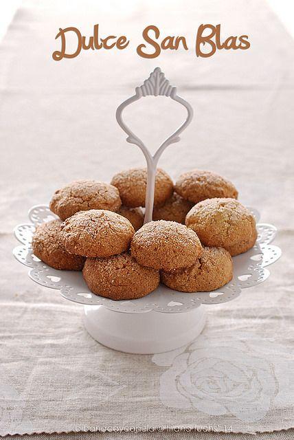 San Blas cookies - Galletas de San Blas con harina de maíz y canela