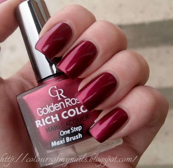Golden Rose Rich Color 22 ~ Colours of my nails