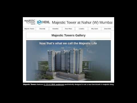 Majestic Towers Nahur - Residential Luxury Properties for Sale in Mumbai