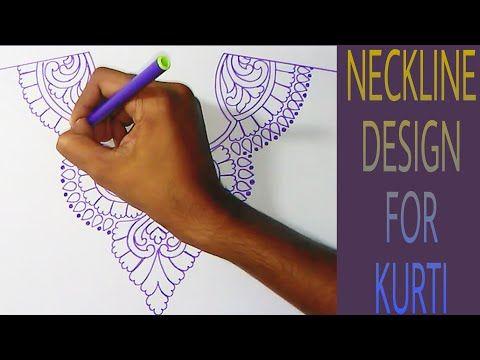 #kurti #neck #embroidery