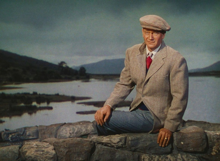 The Quiet Man. Monument poster near the Quiet Man bridge. Thank You all for following my Posters board! - Love Brittany.