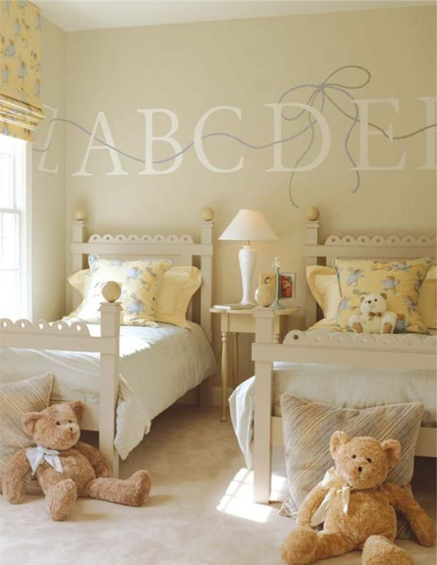 Children's Room, Traditional room by Susan Gulick Interiors