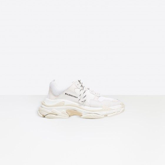 Shop Balenciaga Multimaterial Trainers With Quilted Effect White Men in Balenciaga Sale online with Balenciaga Sneakers Sale and Cheap Balenciaga #fashion #lifestyle #shoes #sneakers #spring #ss18