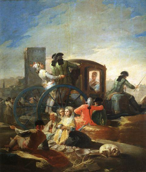 The Pottery Vendor Francisco de Goya  Oil on canvas, 259 x 220 cm 1778  - 1779 Madrid, Museo Nacional del Prado