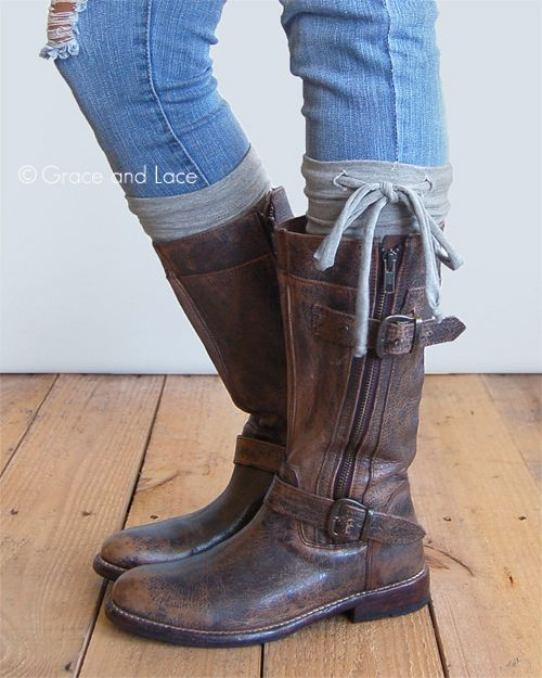 Grace and Lace - Jersey Tie Boot Cuffs, $22.00 (http://www.graceandlace.com/all/jersey-tie-boot-cuffs/)