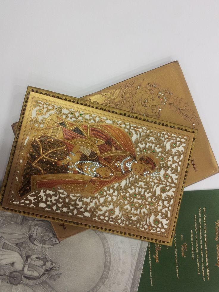 Royal Indian wedding invitation