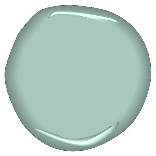 Benjamin Moore - Antique Glass Bathroom color?--love this color!! - sublime-decor