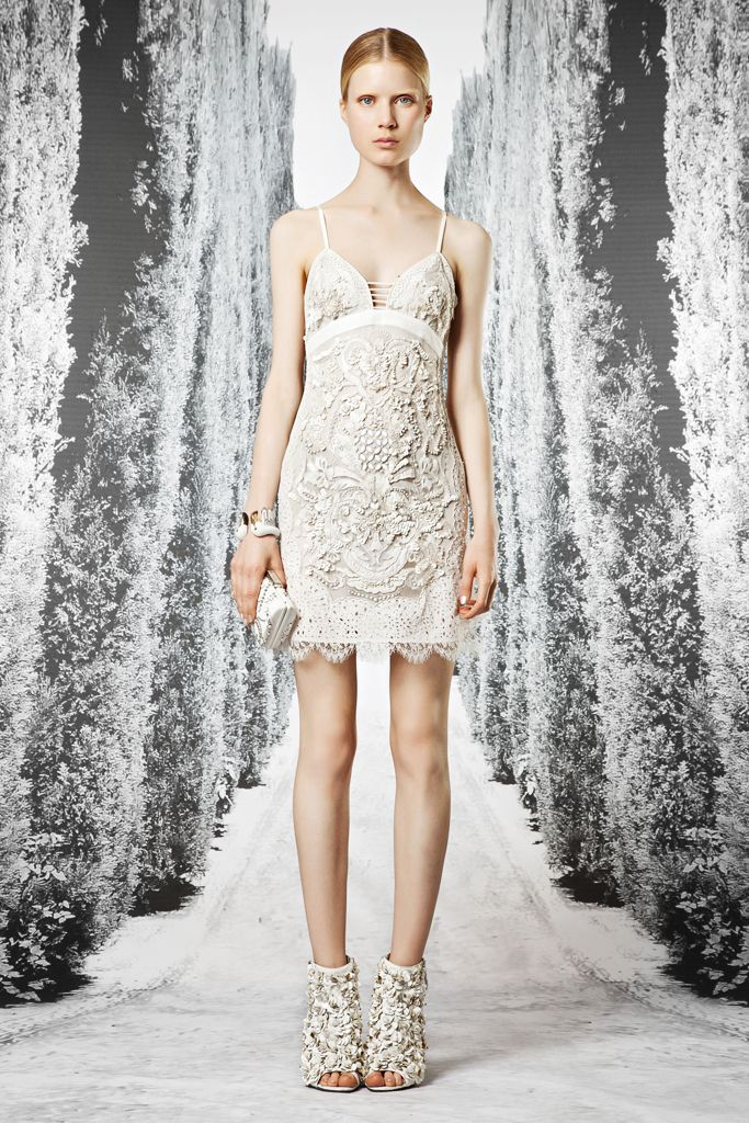 nike air jordan  retro gs white cement Roberto Cavalli Resort    Collection  Gallery  Style com