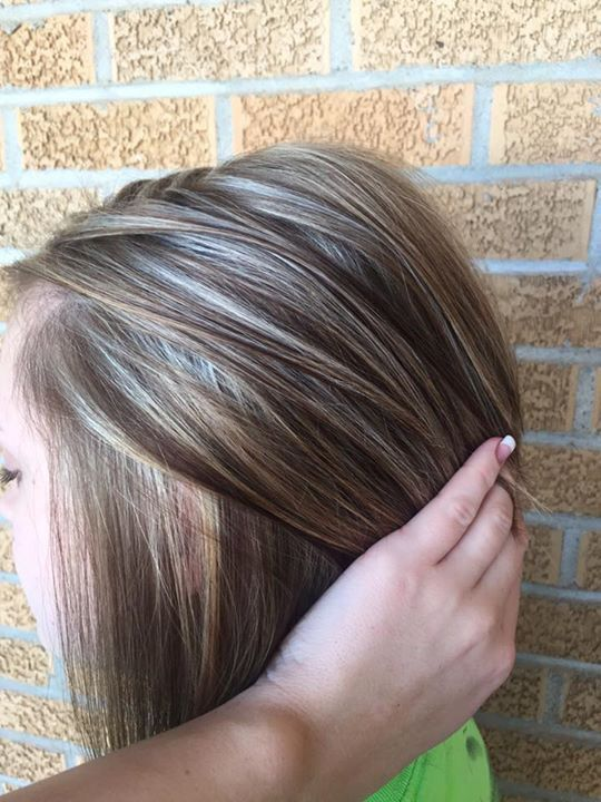 Heavy Blonde Highlights On Brown Hair Hair By Layla