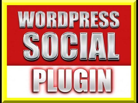 Wordpress Social Plugin: Auto Share Posts To Social Media- Best Wp Socia...