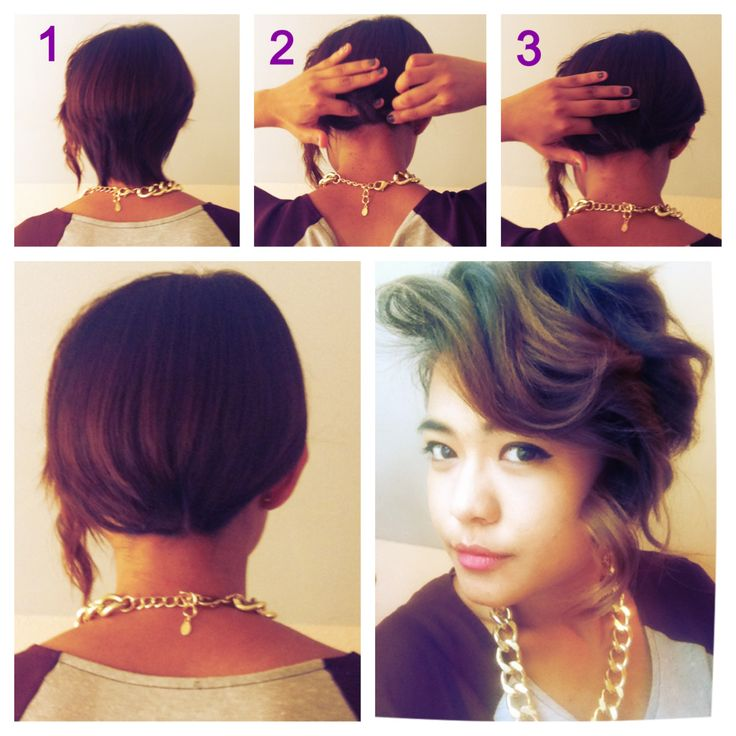 ... on Pinterest Her hair, Protective styles and French roll hairstyle