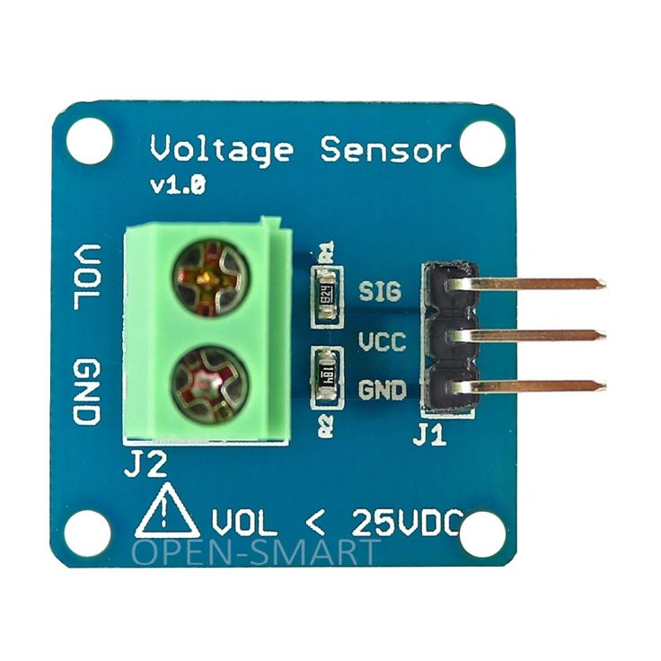 High Accuracy DC Voltage Sensor Module Voltage Detector Voltage Divider Detection Module for Arduino #Affiliate