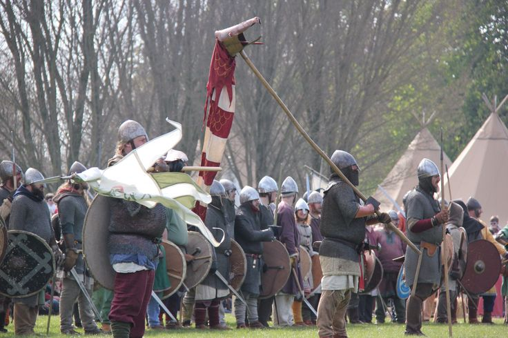 The British Vikings are ready.
