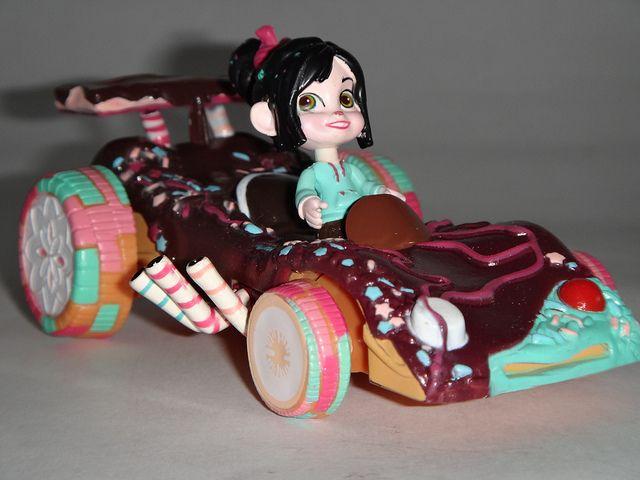 Vanellope Von Schweetz Car