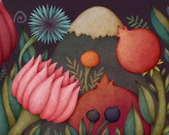 Fragments of a fairy land. Olga Svart Illustration