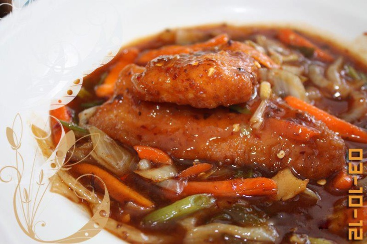 Healthy tips Sweet and Sour Fish Fillet Recipe