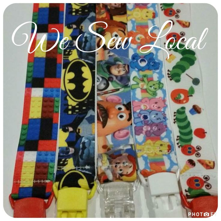 Dummy/Pacifier Clips
