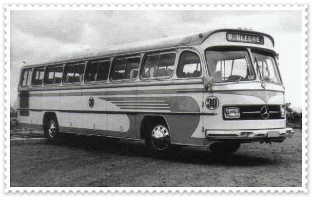 Ônibus monobloco Mercedes-Benz - anos 70