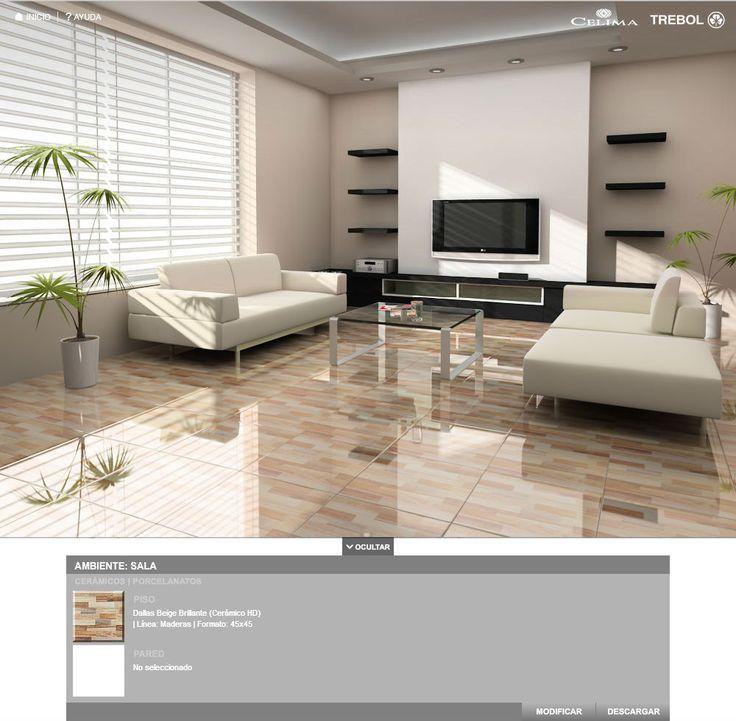 Dallas beige 45x45 distribuidor mundo ceramico el salvador for Pisos y azulejos
