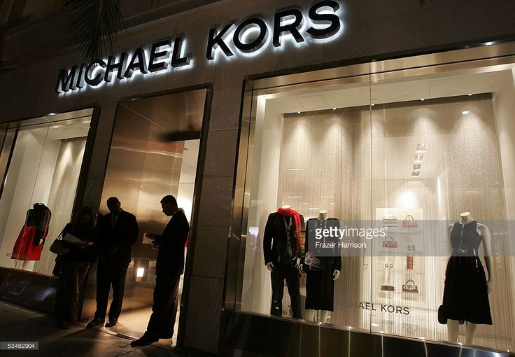 Michael Kors store where Heidi Klum's and Michael Kors hosted Stylish Summer Bash Cocktail party to celebrate the reality television show ' Project Runway' wrapping its second season at designer Michael Kors' store on Rodeo Drive on August 25, 2005 in Beverly Hills, California.