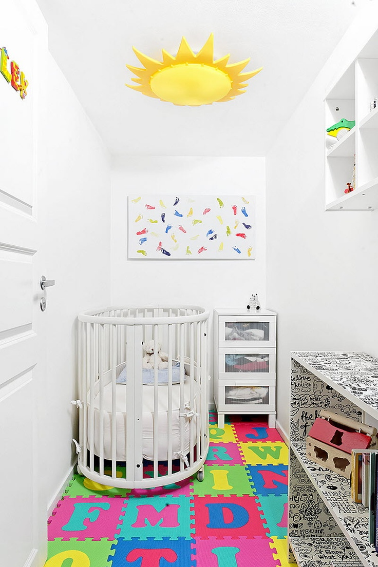 Ridleys miniature kids room.