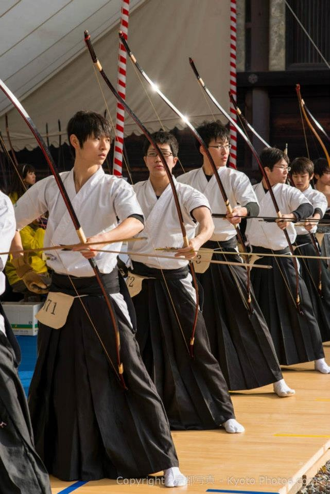 Japanese archery kyudo.... Can a warrior be elegant. Only if he is Japanese..