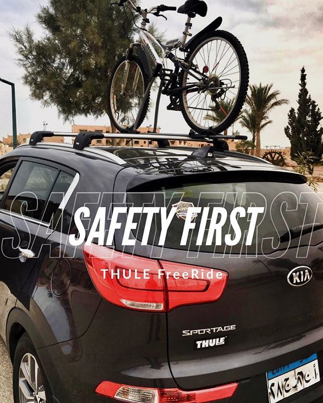 You Can Not Mount A Bike On A Trunk Of Kia Sportage Because Of The Plastic Spoiler And Plastic Pay Down In The Trunk Think Racks Kia Sportage Sportage Kia