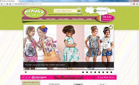 Loja Virtual da Nenuca - Roupa Infantil e Infanto Juvenil - http://nenucashop.com.br/