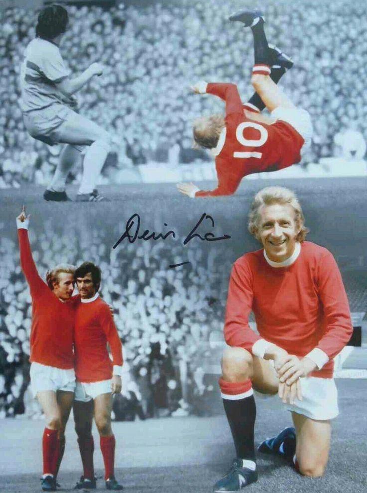 Denis Law of Man Utd wallpaper.