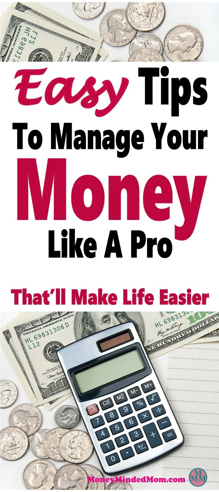 5 Easy Tips To Manage Your Money Like A Pro We All Have Learn Our If Want Save Stay On Budget Get Out